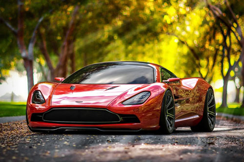 Photo - Aston-Martin Concept Car