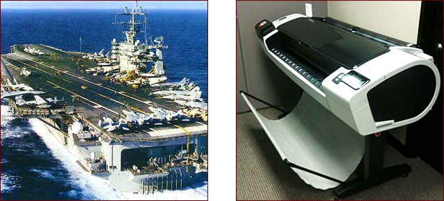 Aircraft Carrier vs Plotter