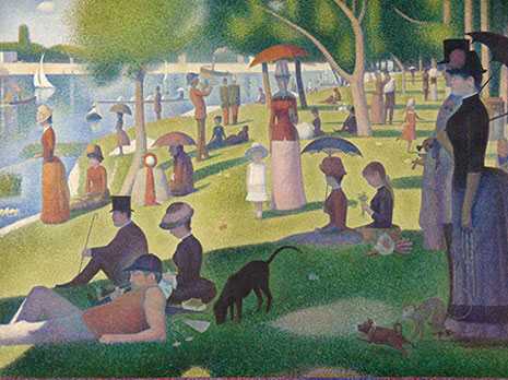 Seurat's Painting