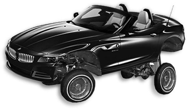 Lowrider BMW
