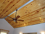 Country chic ceiling