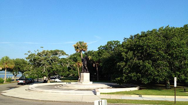 The Battery at Charleston