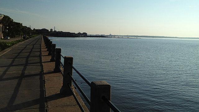 The harbor walk