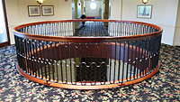 French Quarter Inn - Stairwell Railing