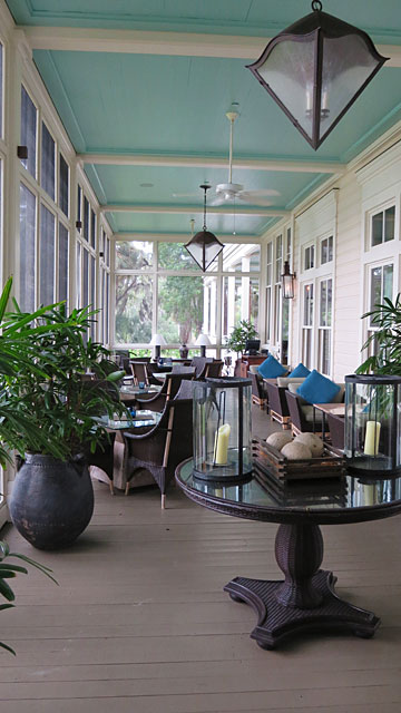 River House veranda