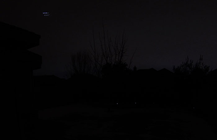 Photo - Night time UFO