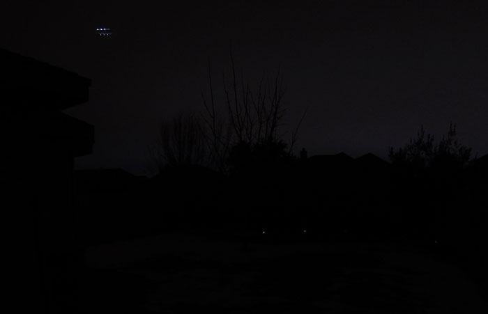 Photo - Night time UFO