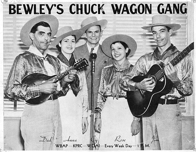 Flyer - Bewley's Chuck Wagon Gang