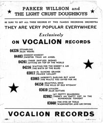 Scan of flyer