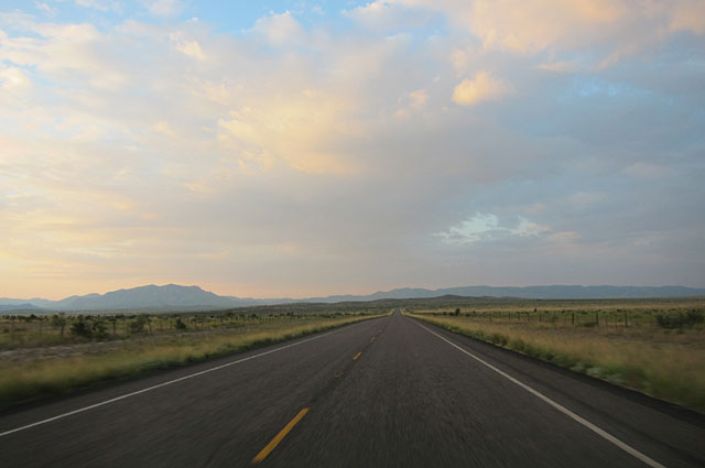 US 385 between Marathon and Fort Stockton, Texas