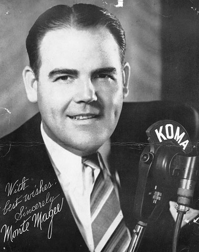 Promotional photo of Monte Magee