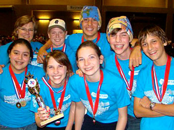 Photo of Destination Imagination team