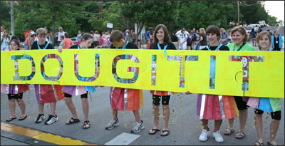 Photo of Midland's 8th grade DI team