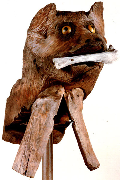 Photo - 'Bull Dog' - Sculpture by Jesse Aaron
