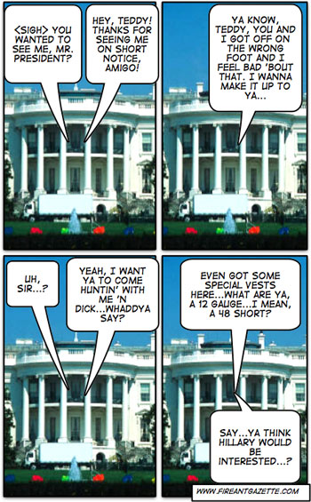 Comic strip - White House Conversation