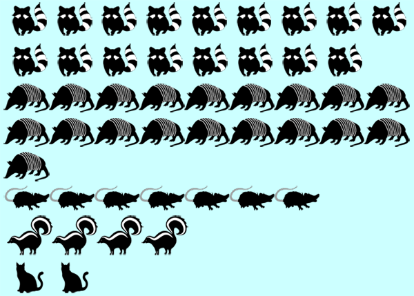 Critter Capture Scorecard