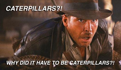 Spoof of Indiana Jones movie still