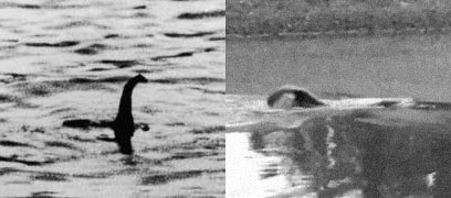 The Loch Ness Monster vs. a Texas beaver tail