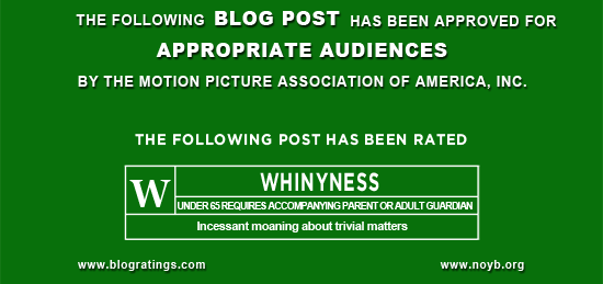 Graphic - Mock MPAA rating for this post