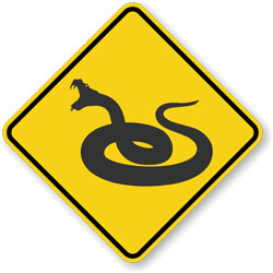 Snake-related text and photos below