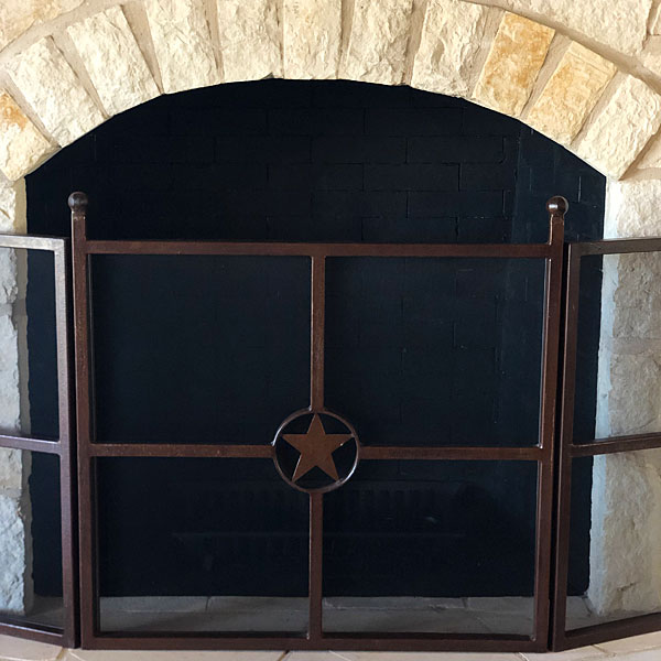 'Photo - Fireplace after painting