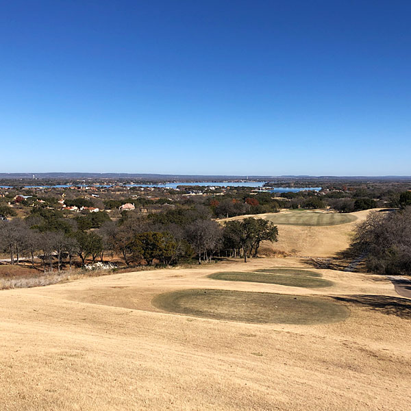 Photo - Looking down the 10th fairway of Apple Rock, with Lake LBJ as a backdrop