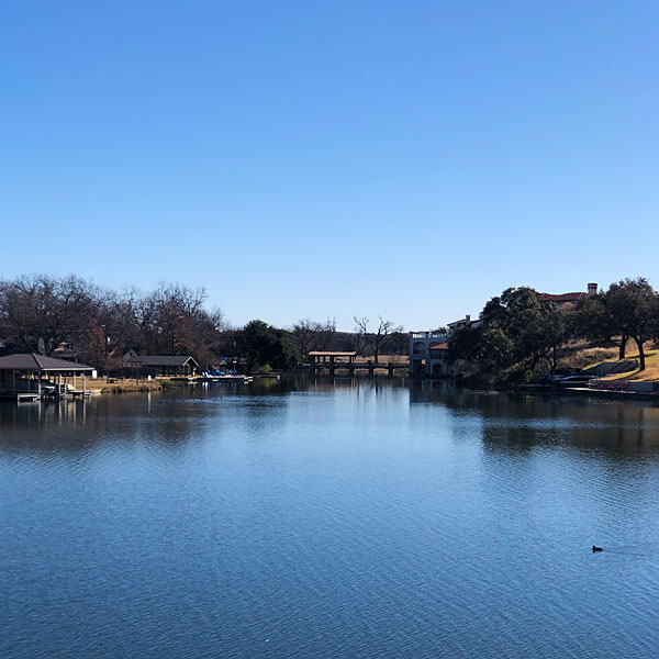 Photo - A view of Lake LBJ from the Apple Rock 12 tee box