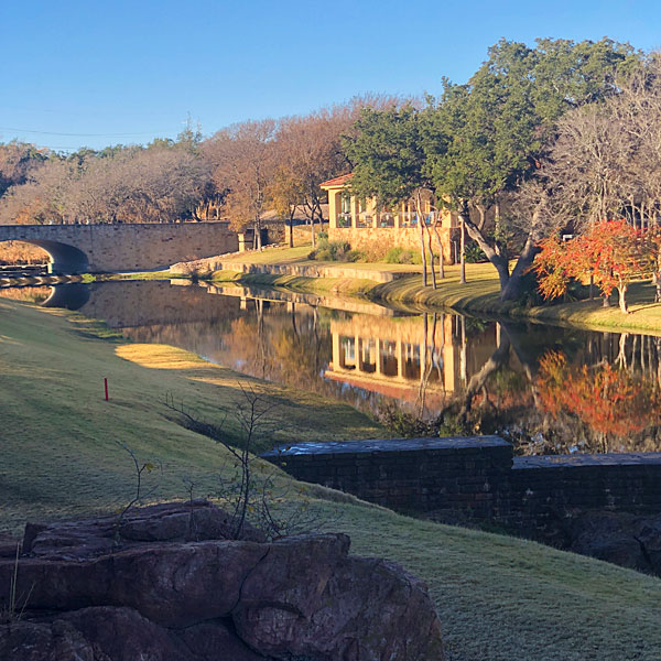 Photo - View of creek and Bay West bridge near the Ram Rock #11 tee box