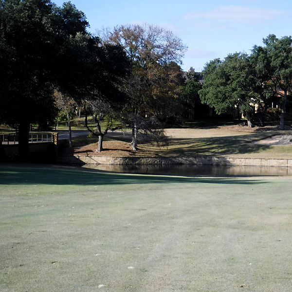 Photo - A view of a portion of the Ram Rock #11 fairway and green