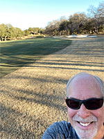 Photo - Selfie of me on the Ram Rock golf course after a run