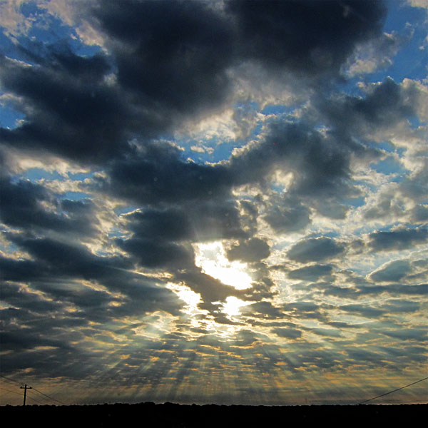 Photo - Cloud formations in Central Texas