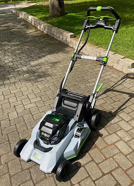 Photo - EGO battery-powered lawn mower