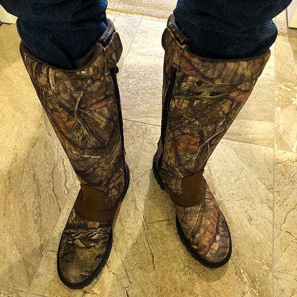 Photo - Snake boots
