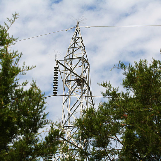 Photo - Transmission tower at a distance