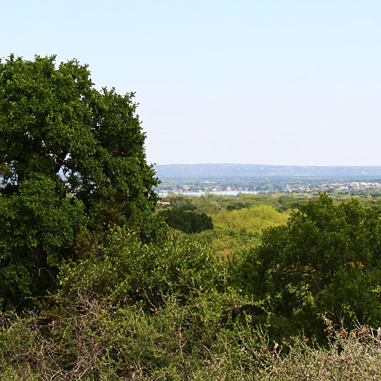Photo - View of Lake LBJ and surrounding countryside
