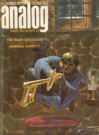 Cover - August, 1966